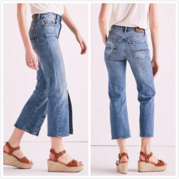 Lucky Brand High Rise Shrunken Boot Jeans, Size 26